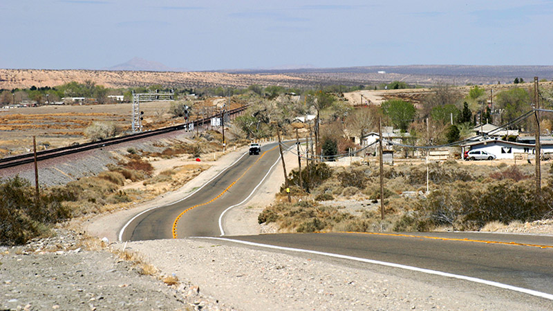 A typical scene along this portion of Route 66