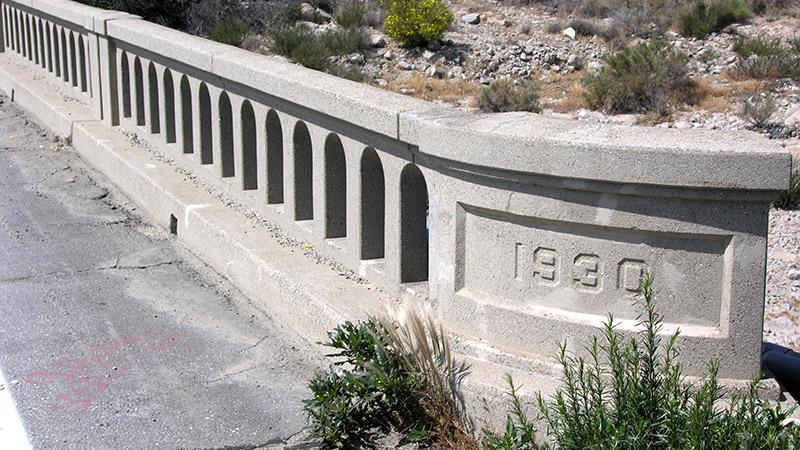 Same bridge - 1930 stamped