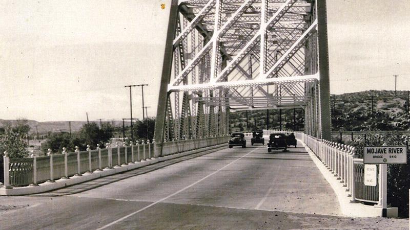 Heading eastbound, circa 1940s
