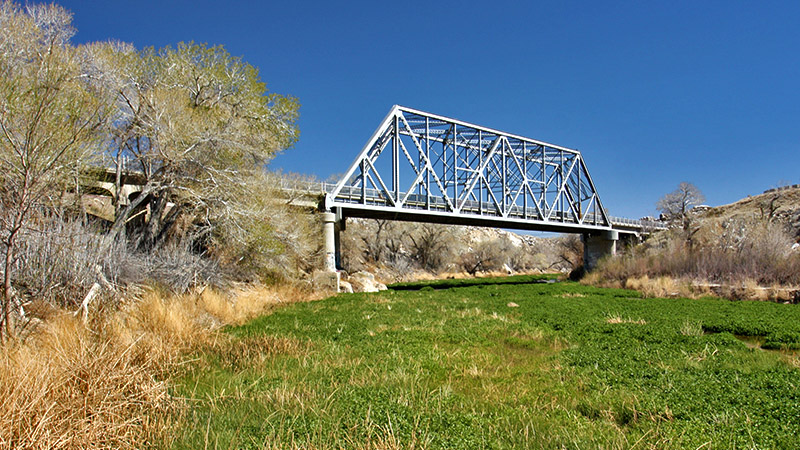 Mojave River Steel Bridge