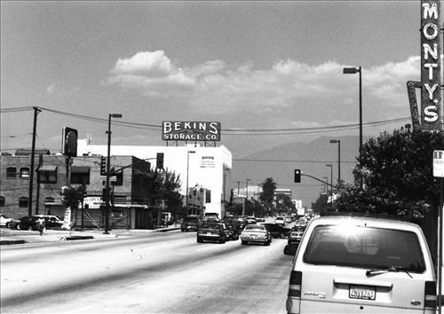 Bekins Storage Company Roof Sign