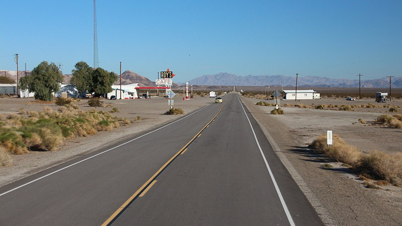 Amboy, as seen along Route 66