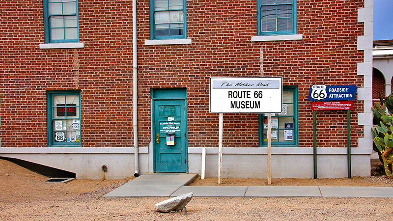 Don't miss the Route 66 museum!