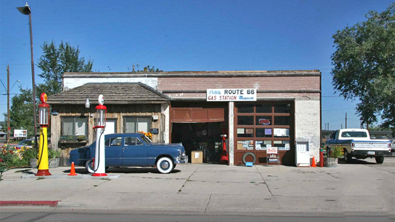 One of several old gas stations in Needles