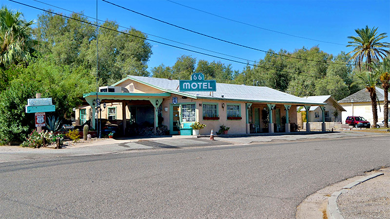 Needles has a fair collection of classic old hotels along Route 66