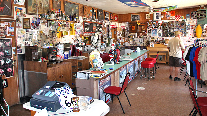 Inside the Bagdad Café